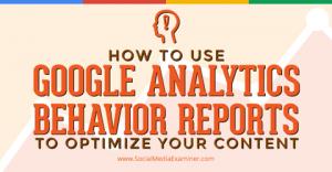 google-analtyics-behavior
